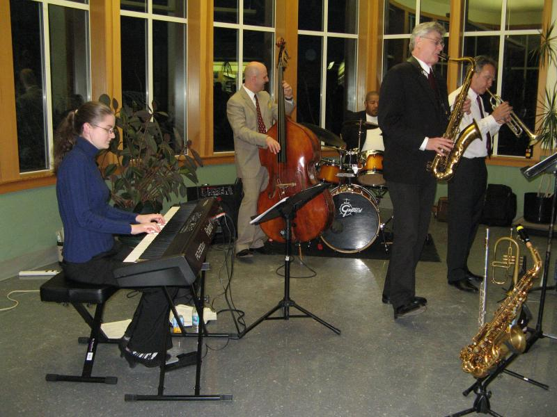 Hal Rose Quintet at Lakeside High School Dance